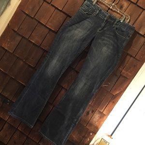 Express Stella boot cut jeans size 4